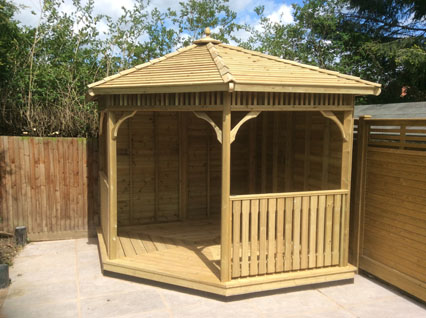 Wooden Gazebos In Essex Wrights Sheds Ltd