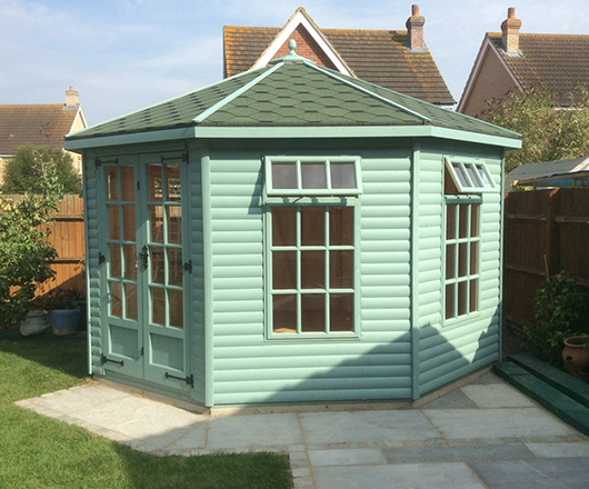 Octagonal Summer Houses In Essex Wrights Sheds Ltd